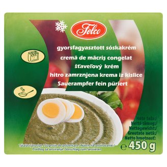 Felco Quick-Frozen Sorrel Cream 450 g