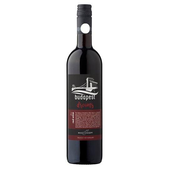 Wine Concept Budapest Dreams Egri Merlot klasszikus száraz vörösbor 12,5% 0,75 l