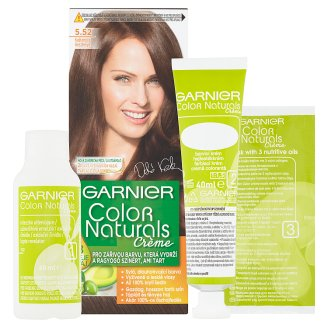 image 2 of Garnier Color Naturals Crème 5.52 Chestnut Nourishing Permanent Hair Colorant