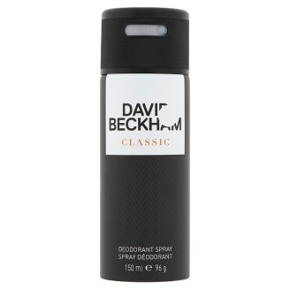 David Beckham Classic Deodorant Spray for Men 150 ml