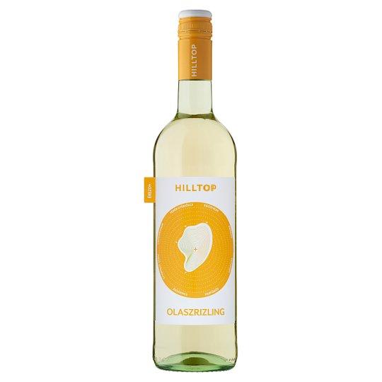 Hilltop Neszmélyi Olaszrizling száraz fehérbor 15% 75 cl