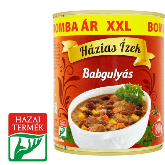 Házias Ízek Bean Goulash 800 g