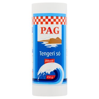 Pag Iodized Sea Salt 450 g