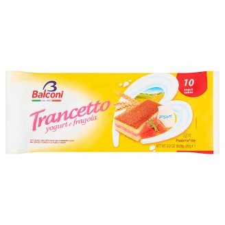 Balconi Fragola Oven-Baked Confectionary Product with Strawberry and Yoghurt Filling 10 pcs 280 g