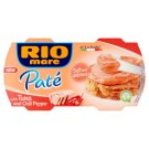 Rio Mare Paté pástétom tonhallal és paprikával 2 x 84 g