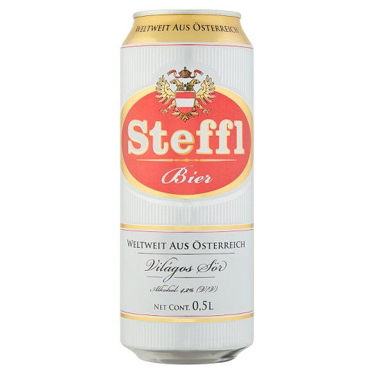Steffl Lager Beer 4,2% 0,5 l Can