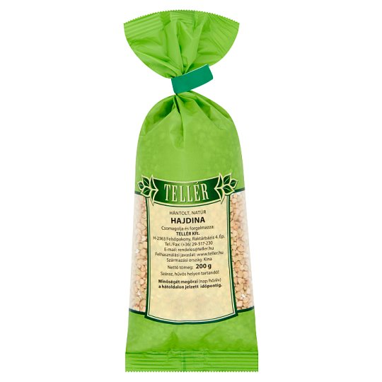 Tellér Peeled Unflavoured Buckwheat 200 g