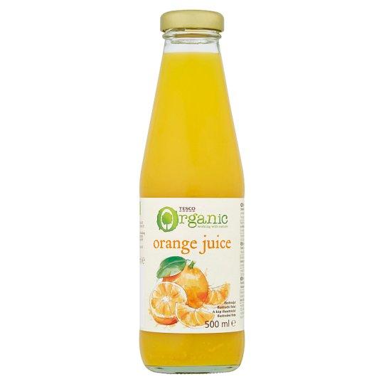 Tesco BIO narancslé 500 ml