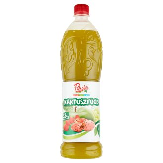 Pölöskei Cactus Fig Flavoured Syrup with Sugar and Sweetener 1 l