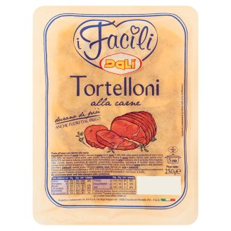 Dalì i Facili Tortelloni sertéshússal töltött tojással készült tészta 250 g