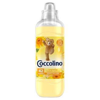 Coccolino Happy Yellow öblítőkoncentrátum 42 mosás 1050 ml