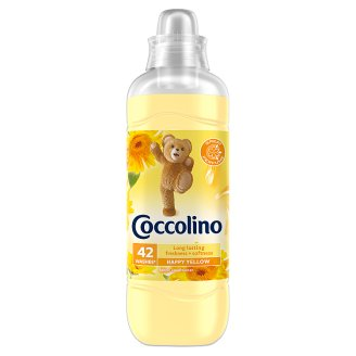 Coccolino Happy Yellow Fabric Conditioner 42 Washes 1050 ml