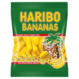 Haribo Bananas Fruit Flavoured Foamed Gums 100 g