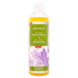 Aromax Relaxing Massage Oil with Mandarin and Lavender Oil 250 ml