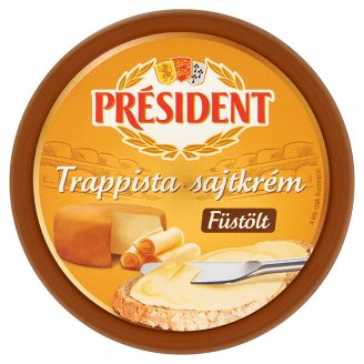 Président Smoked Trappist Cheese Spread 125 g