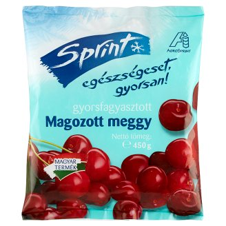 Sprint Quick-Frozen Pitted Sour Cherry 450 g