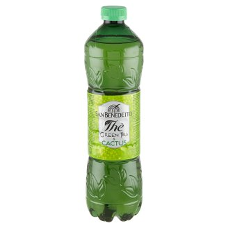San Benedetto Green Ice Tea Flavoured Drink with Aloe Vera, Sugar and Sweetener 1,5 l