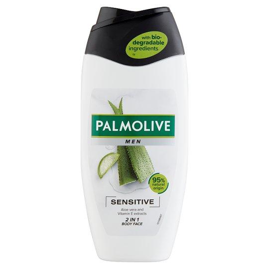 Palmolive Men Sensitive tusfürdő érzékeny bőrre 250 ml