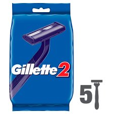 Gillette2 Disposable Men's Razor - 5 Pack