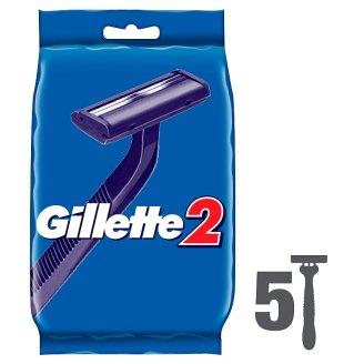 Gillette 2 Eldobható Férfi Borotva 5 db