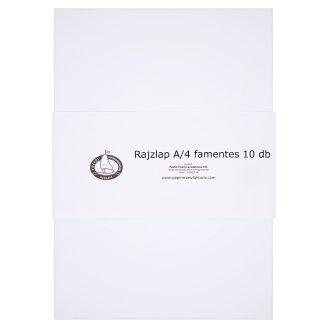 Wood-Free A/4 Drawing Paper 10 pcs