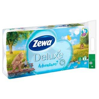 Zewa Deluxe Adventure toalettpapír 3 rétegű 8 tekercs