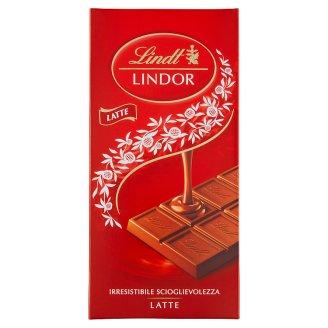 Lindt Lindor lágyan olvadó kakaós krémmel töltött tejcsokoládé 100 g