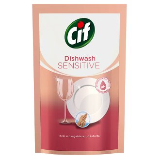 CIF Sensitive Hand Washing Up Liquid Refill 500 ml