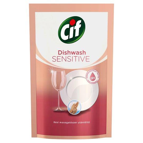 CIF Sensitive Hand Washing Up Liquid Refill 500 ml