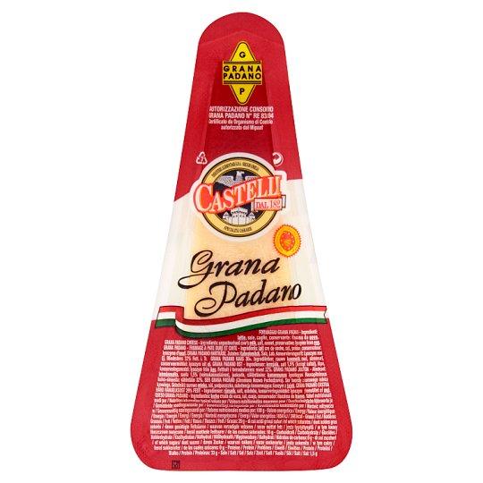 Castelli Grana Padano félzsíros kemény sajt 125 g