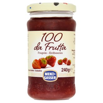 Menz & Gasser Special Quality Strawberry Jam in Glass 240 g