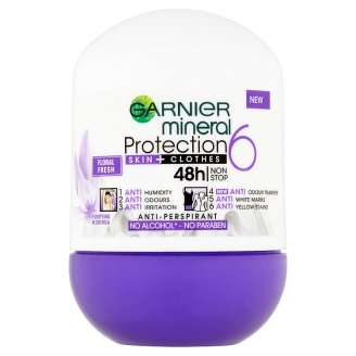 Garnier Mineral Protection 6 Antiperspirant Roll On 50 ml