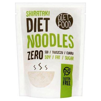 Diet-Food Long Noodles from Gluten-Free Konjac Flour 340 g