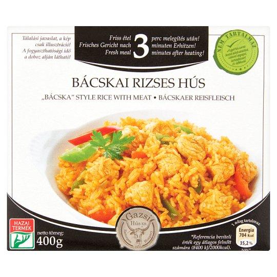 Gazsi bácskai rizses hús 400 g