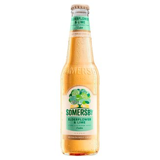 Somersby Apple Cider with Taste of Elderflower Lime 4,5% 330 ml