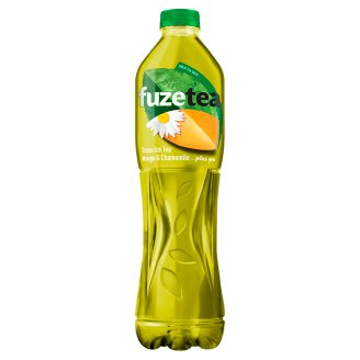 FUZETEA Non-Carbonated Mango and Chamomile Flavoured Soft Drink with Sugar and Sweetener 1,5 l