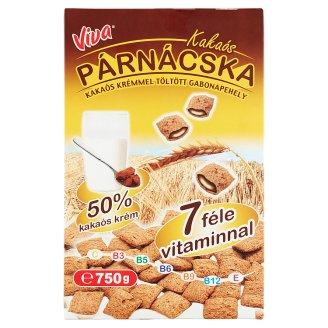 Viva Cocoa Cream Filled Pillows 750 g