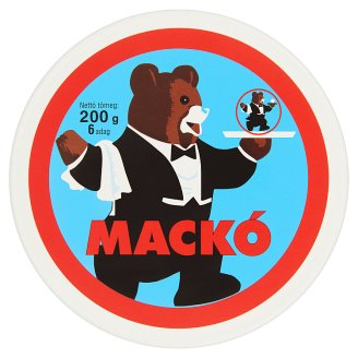 Mackó Spreadable Semi-Fat Processed Cheese 6 pcs 200 g