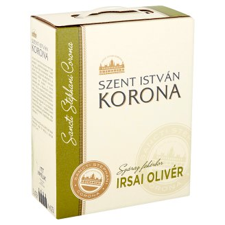 Szent István Korona Dunántúli Irsai Olivér Dry White Wine 11% 3 l