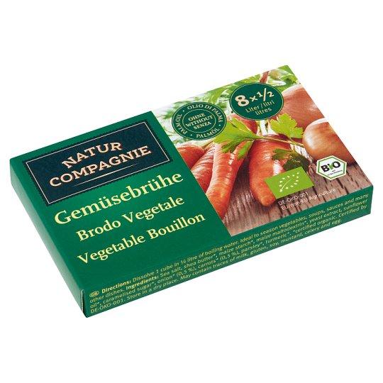 Natur Compagnie Organic Vegetable Bouillon 8 pcs 84 g