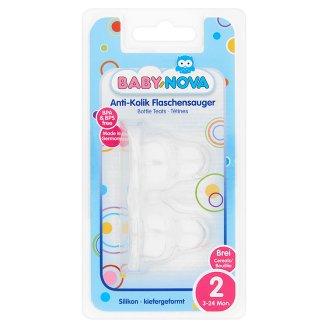 Baby-Nova 2 anatómiai szelepes cumibetét 3-24 hónapos korig