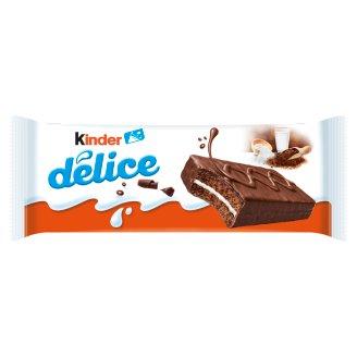 Kinder Délice tejes krémmel töltött kakaós piskóta kakaós bevonattal 39 g