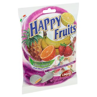 Liking Happy Fruits Fruit Filled Candies 125 g