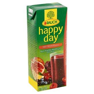 Rauch Happy Day 100% Multivitamin vegyes gyümölcslé 8 vitaminnal 0,2 l