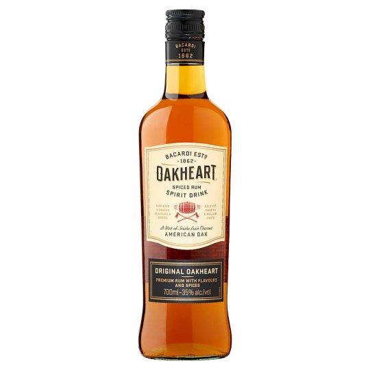 Bacardi Oakheart Rum Based Alcoholic Drink 35% 0,7 l