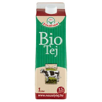 Zöldfarm Organic Milk 3,5% 1 l
