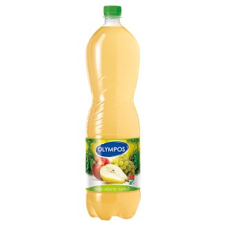 Olympos Apple-Pear-Grapes Juice with Pulp 1,5 l