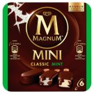 Magnum Mini Multipack Classic Mint Ice Cream 6 x 55 ml
