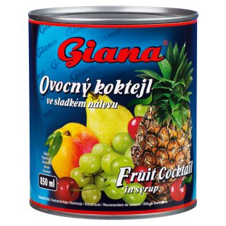 Giana Fruit Cocktail in Syrup 820 g