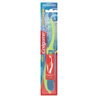 Colgate Portable összecsukható puha sörtéjű fogkefe